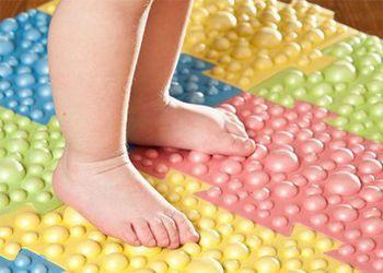 ортопедический коврик пазл для детей