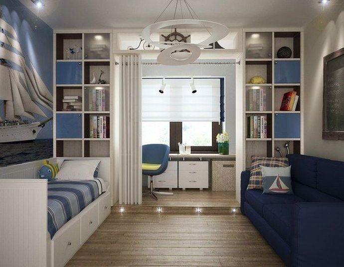 детская комната для двух мальчиков школьников