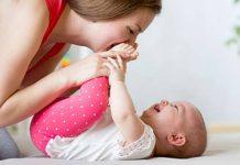 гимнастика для ребенка 3 месяца