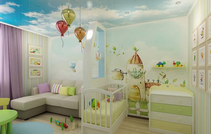 шкаф в детскую комнату для девочки