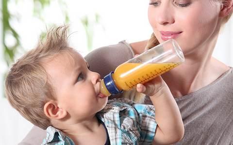 как вводить сок в прикорм