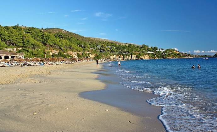 Пляж Корфу в Греции