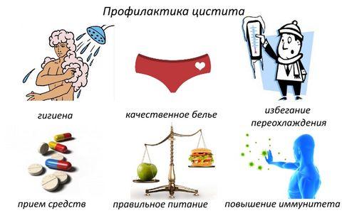 лечение и профилактика цистита при грудном вскармливании