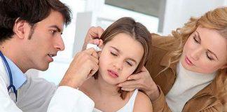 Лечение отита уха у детей