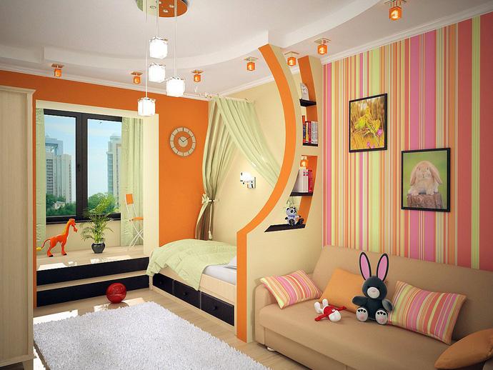 мебель для маленькой детской комнаты