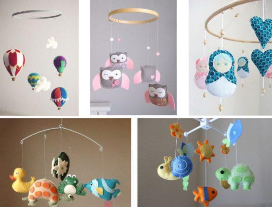 Игрушки из фетра для новорожденных своими руками