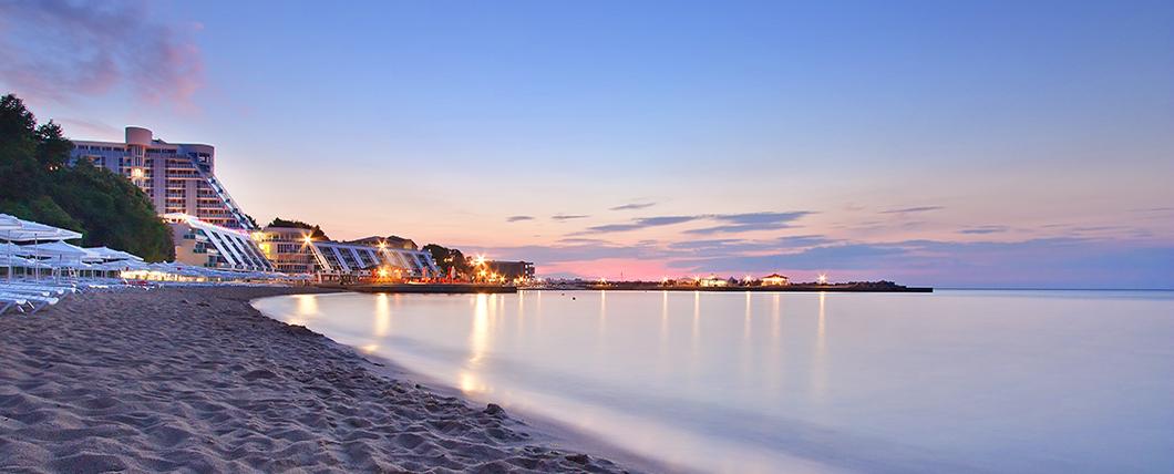 Море в Болгарии на курорте Варна