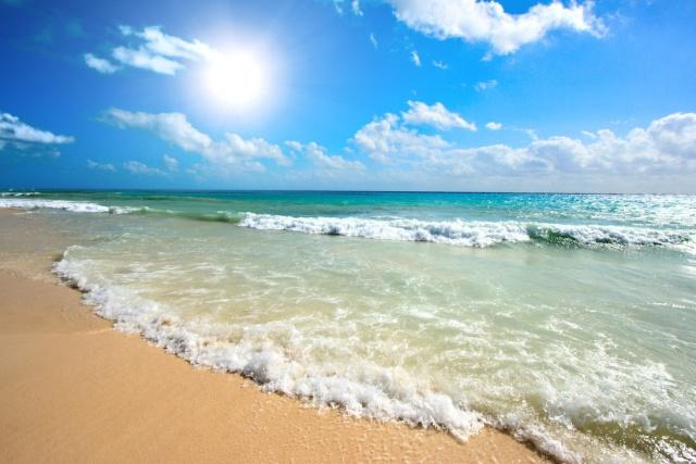 Море на курорте Созополь в Болгарии
