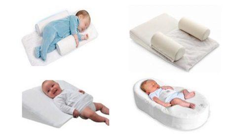 виды ортопедических подушек-позиционеров для новорожденных при кривошее