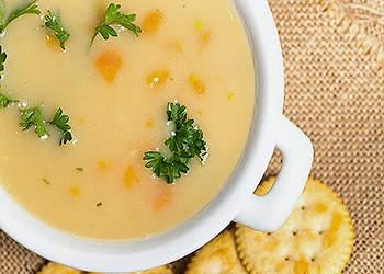 рецепты супов для детей до года: овощной