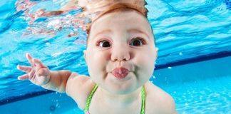 Плавание детей