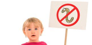 глисты у детей лечение в домашних условиях