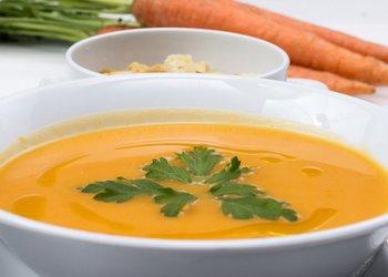 рецепты супов для детей до года: морковный