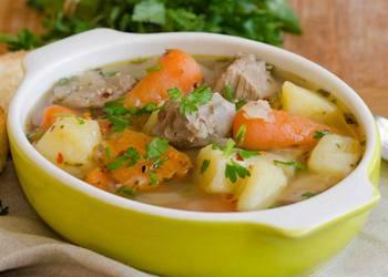 рецепты супов для детей до года: мясной