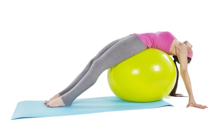 упражнения на фитболе после родов