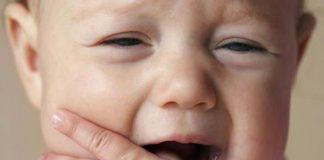 сколько держится температура при прорезывании зубов
