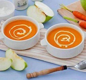 Яблочно-морковное пюре для ребенка после 9 месяцев