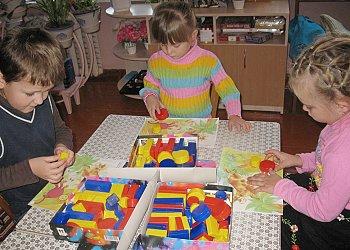 логические игры для девочек: блоки Дьенеша