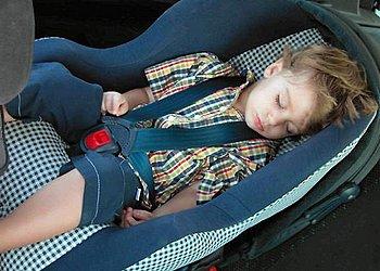 Причины укачивания ребенка в транспорте