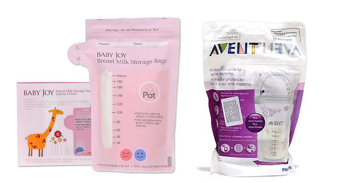 пакеты для заморозки грудного молока avent