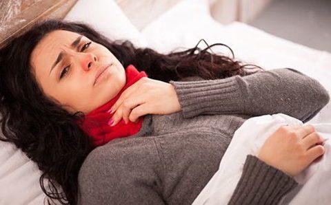 рекомендации лечения горло при грудном вскармливании