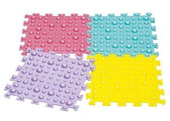 ортопедические коврики – квадратные пазлы