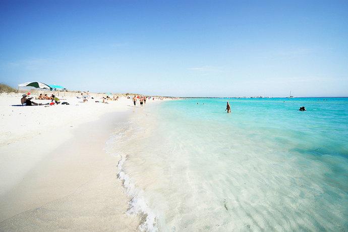 пляжи майорки с белым песком