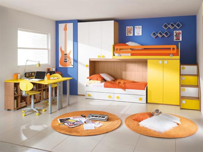 корпусная мебель для детской комнаты для мальчика