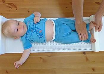 как измерять рост ребенка