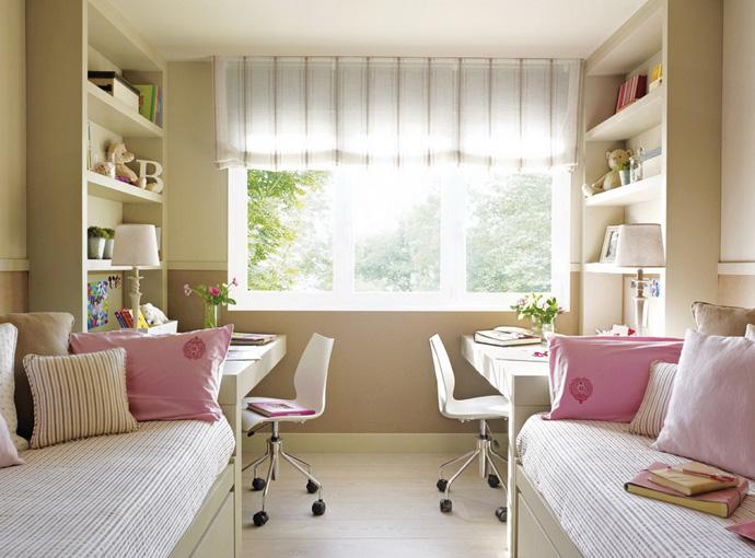мебель для маленькой детской комнаты для девочки