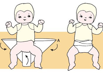 марлевые подгузники для новорожденных