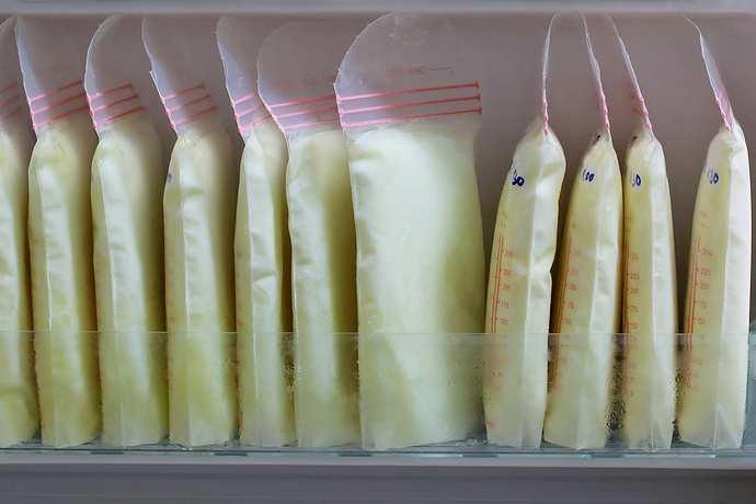 заморозка и разморозка грудного молока