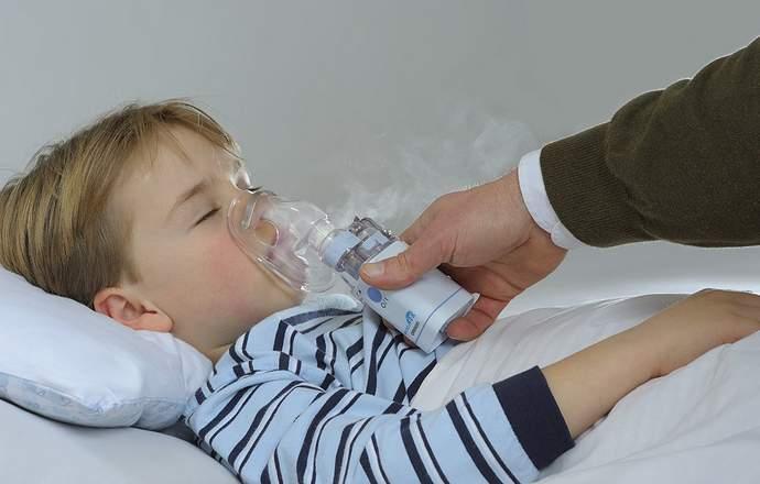 ингаляции при сухом кашле небулайзером детям