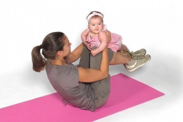 как убрать обвисший живот после родов