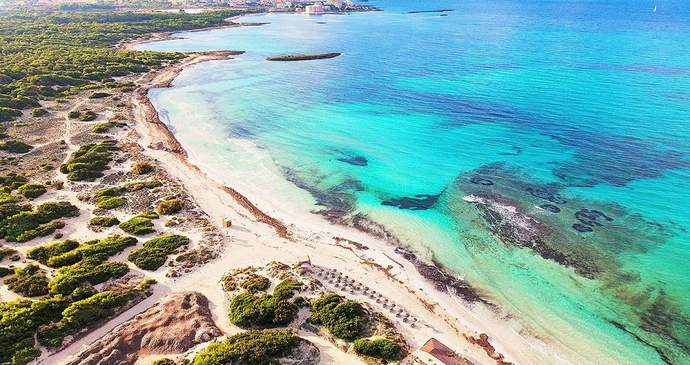 пальма де майорка пляжи