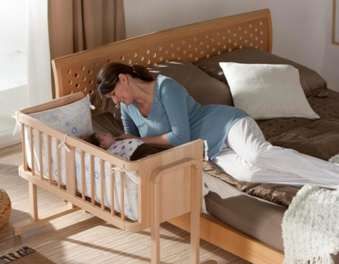 размер детской кроватки для новорожденных
