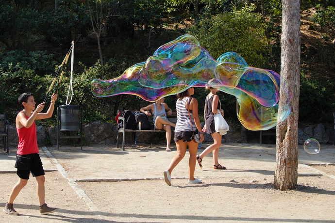 развлечения в парке гуэля