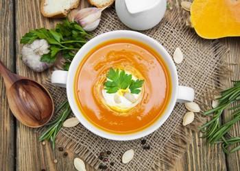 рецепты супов для детей до года: тыквенный
