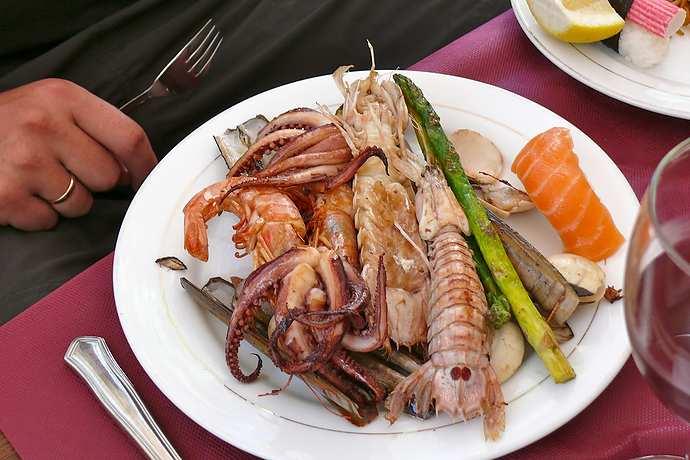 рыбные блюда в испании