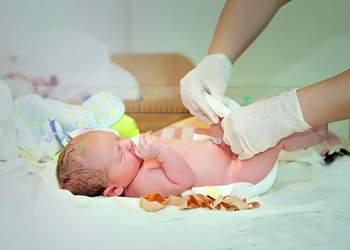 сколько заживает пупок у новорожденного в роддоме