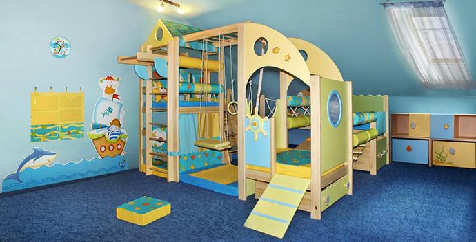 мебель в детскую комнату для мальчика фото