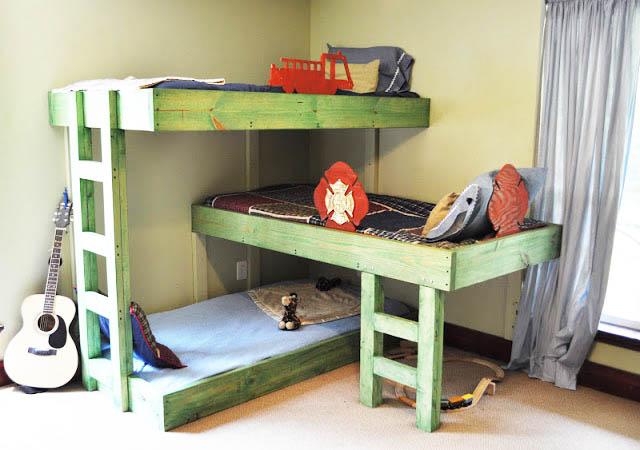 детская комната для мальчика и девочки вместе