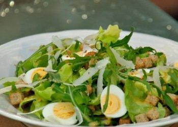 салат из яиц при грудном вскармливании