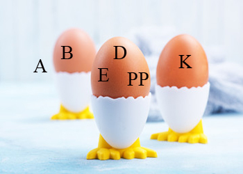 витамины в яйцах при грудном вскармливании