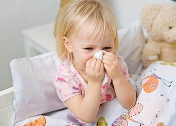 почему у ребенка желтые сопли